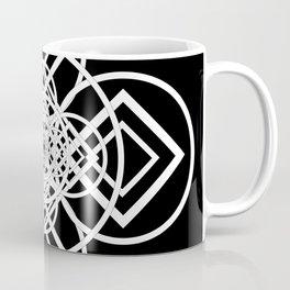 Diamonds Over not Quite Spades Midnight Version Coffee Mug