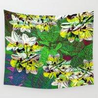 fern Wall Tapestries featuring Fern Tripn by Vikki Salmela