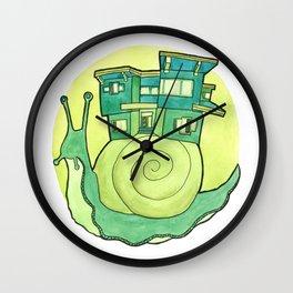Modern Traveler Wall Clock