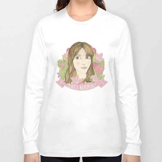 ¿eres normal? Long Sleeve T-shirt