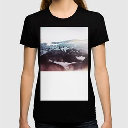 Faded mountain T-shirt