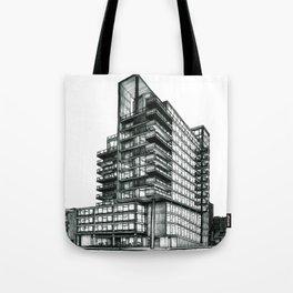In Defense of Brutalism - Original Drawing Tote Bag