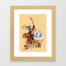 Tally Ho! Framed Art Print