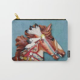 Indian Pony Head Carry-All Pouch
