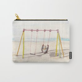 Swing at the North Sea Carry-All Pouch