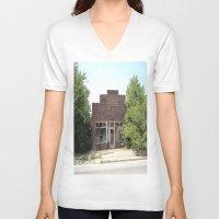 history V-neck T-shirts featuring History by durandurantulsa
