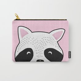 Raccoon Print Carry-All Pouch