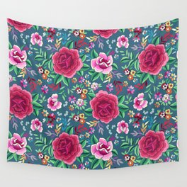 SPANISH ROSE Wall Tapestry