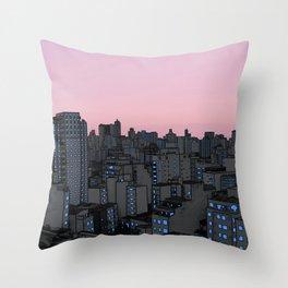 Skyline IV Throw Pillow