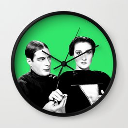 Draculas Daugter Wall Clock
