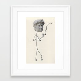 Moody David Framed Art Print