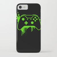 xbox iPhone & iPod Cases featuring Xbox One Controller by meganjamo