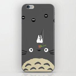 Cute Totoro iPhone Skin