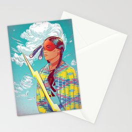 Thunder Woman Stationery Cards