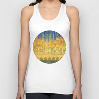 israel Tank Tops featuring Israel by Eugene Frost