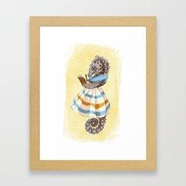 Ms. Seahorse Framed Art Print