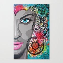 Tatoue moi Canvas Print