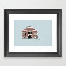 Royal Albert Hall Framed Art Print