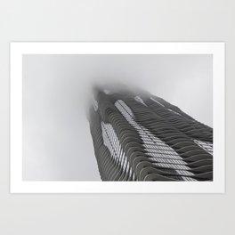 Foggy Chicago Morning 007 Art Print