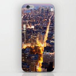 NYC FIRE iPhone Skin