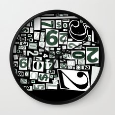Numbers by Friztin Wall Clock