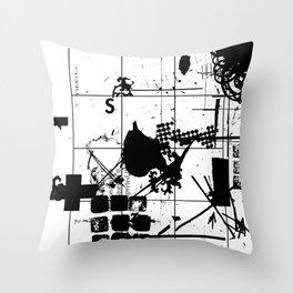closure sx Throw Pillow
