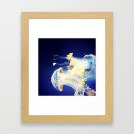 let it go, let it flow Framed Art Print