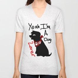 Dog lover  Unisex V-Neck