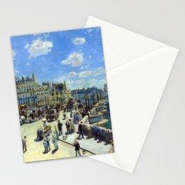 Auguste Renoir Pont Neuf, Paris Stationery Cards