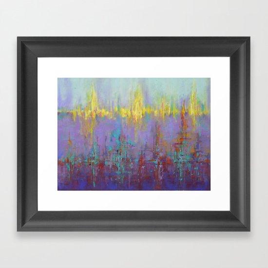 Dubstep IV Framed Art Print