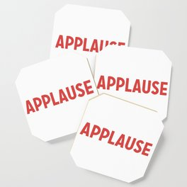 Applause Coaster