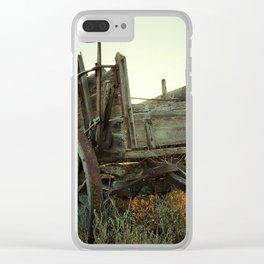 Chuck Wagon Clear iPhone Case