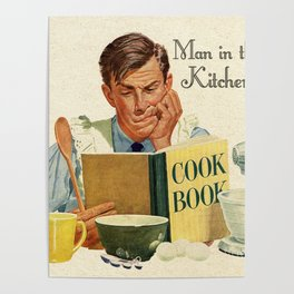 A Man in the Kitchen Poster