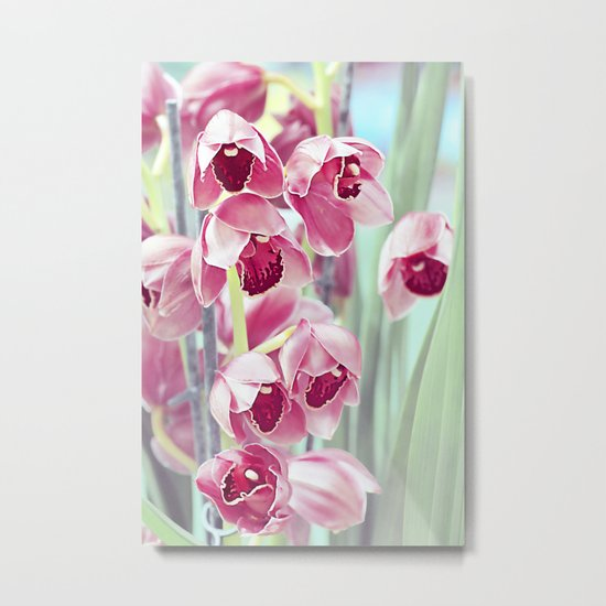 The mystery of orchid (7). Metal Print