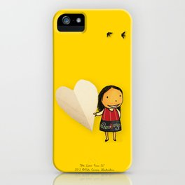 Share your Heart iPhone Case