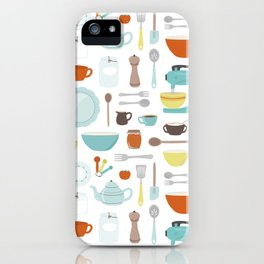 My Vintage Kitchen iPhone Case