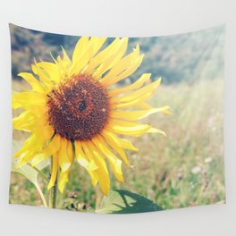 Sunflower Meadow Wall Tapestry