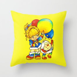 Rite Brite Throw Pillow