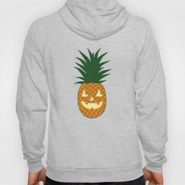 Carved Pineapple Hawaiian Halloween Hoody