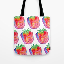 Watercolor Painting Food Illustration Nursery Art - Color of Your Life Tote Bag