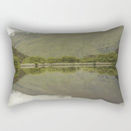 Reflections from Diamond Lake Rectangular Pillow