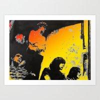 velvet underground Art Prints featuring Velvet Underground by Matt Pecson