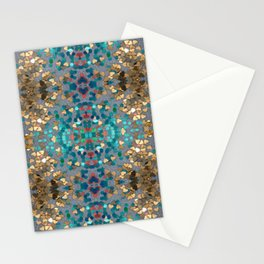 Sequin Mosaic Pattern Stationery Cards