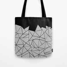 Abstraction Mountain Tote Bag