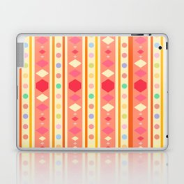 Happy Tribal Pattern Laptop & iPad Skin