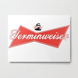 Terminweiser Metal Print