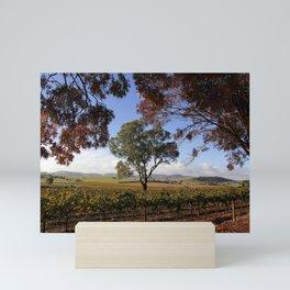 Barossa Valley Autumn Landscape Mini Art Print