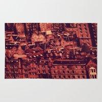 edinburgh Area & Throw Rugs featuring Edinburgh by Molly Smiles