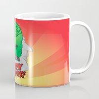 marx Mugs featuring Marx Attacks! by ericbennettart