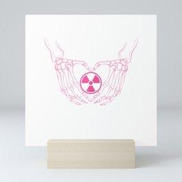 Womens X-Ray Life Hospital T-Shirt I Medical Science Radiology Mini Art Print